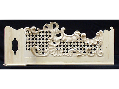 Late Baroque gallery railing5