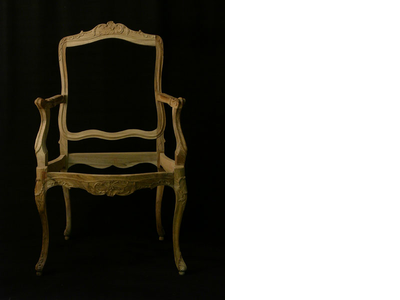 Rococo chair, southern Germany around 1