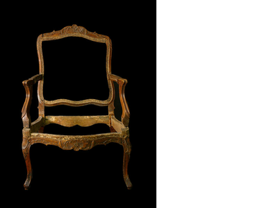 Rococo chair, southern Germany around 4