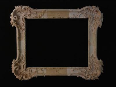 South German Rococo frame 1