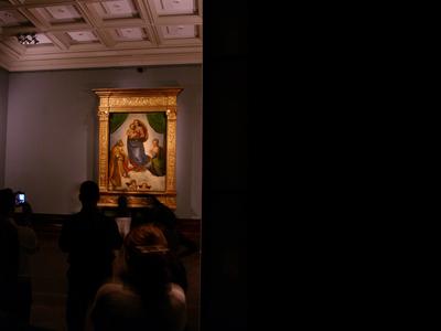 "Tabernacle frame for ""Sixtine Madonna"" by Raffael 1060497"
