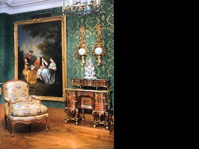 Bilderrahmen Restaurierung Dresdner Galerierahmen