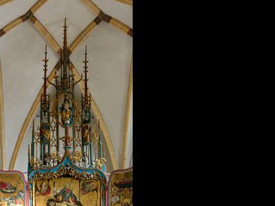 Blutenburg Altar Munich 3