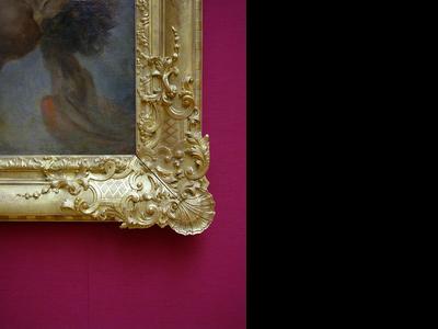 Effner Gallery Frame 1730-1740 Detail1