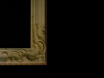 Dresden Rokoko frame corner