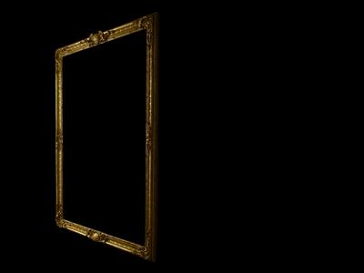 Dresden rokkoko frame 4