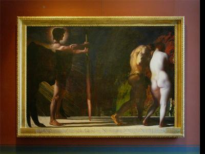 Franz von Stuck picture frame 2