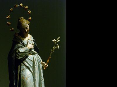 Restoration Ignaz Guenther Maria Immaculata 31