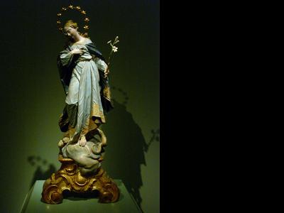 Restoration Ignaz Guenther Maria Immaculata 32